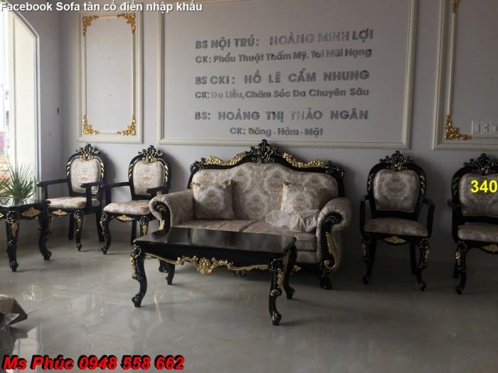 phòng khách tân cổ điển19