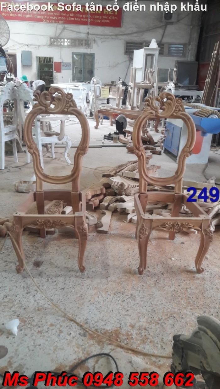 khung sườn bàn ghế gỗ tân cổ điển2