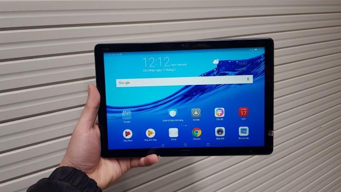 Huawei Mediapad M5 Lite 4G | Pin 7500mAh.4 loa Harman Kardon 3D.Vân Tay 1 Chạm,Type-C.Nghe gọi1