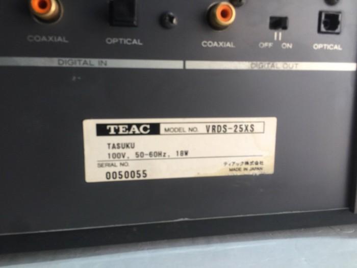Bán chuyên CD TEAC 25XS hàng từ nhật về7