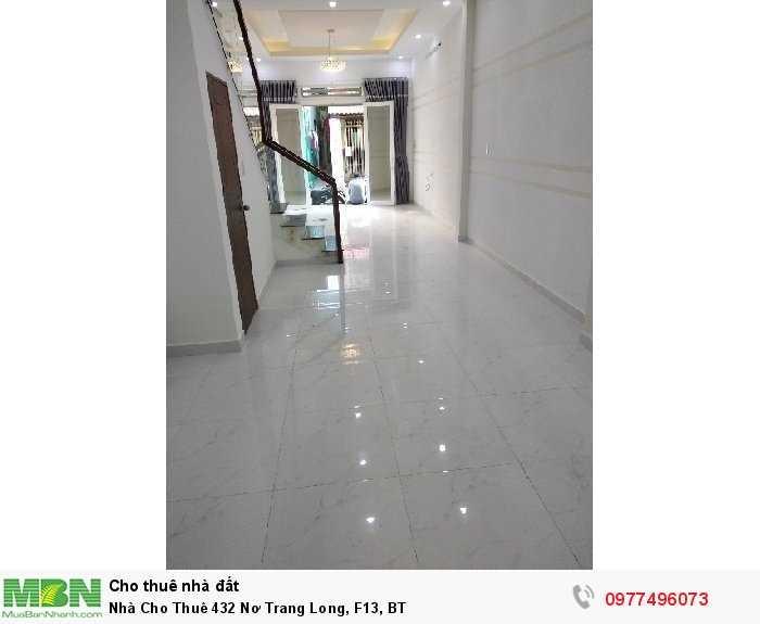 Nhà Cho Thuê 432 Nơ Trang Long, F13, BT