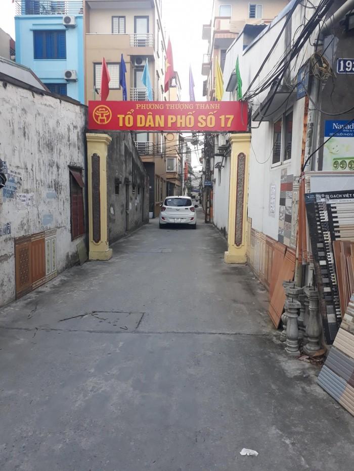 Bán đất khu tập thể quân đội Z133 tổ 17 Thượng Thanh oto đỗ cửa