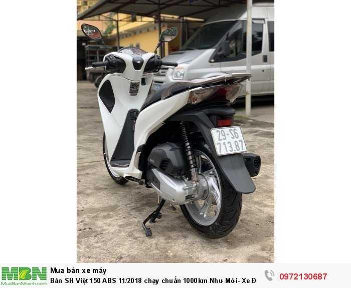 Bán SH Việt 150 ABS 11/2018 chạy chuẩn 1000km Như Mới- Xe Đẹp Miễn Chê.