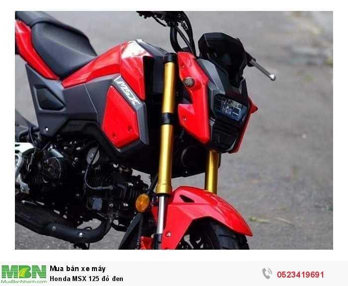 Honda MSX 125 đỏ đen