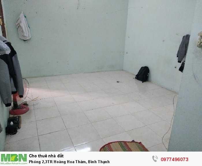 Phòng 2,3TR Hoàng Hoa Thám, Bình Thạnh