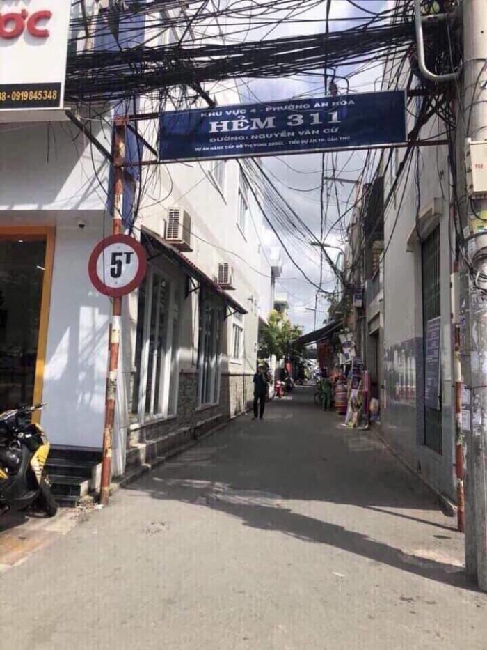 Bán Cặp Nền Thổ Cư 100% Trục Chính Hẻm 311 Đường Nguyễn Văn Cừ P.An Hoà