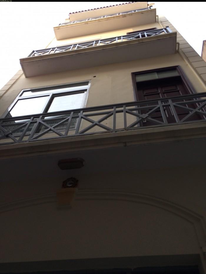 Bán Nhà Phố Trần Quý Cáp. Oto Vào Nhà. Kinh Doanh Spa, Cửa Hàng. 45m2*6T.