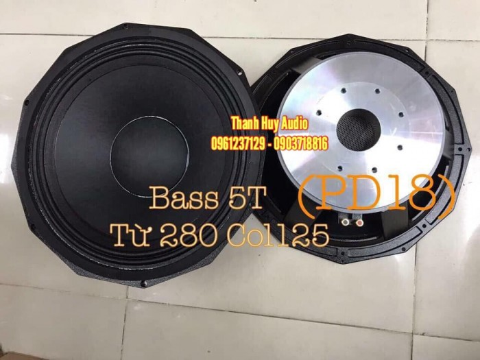 Củ bass 50 RCF từ 280 coil 125 hàng nhập China