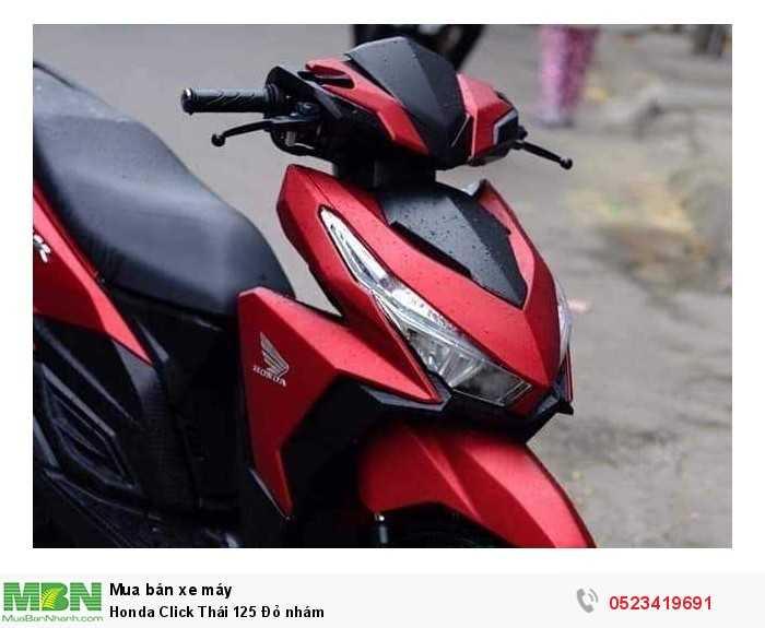 Honda Click Thái 125 Đỏ nhám