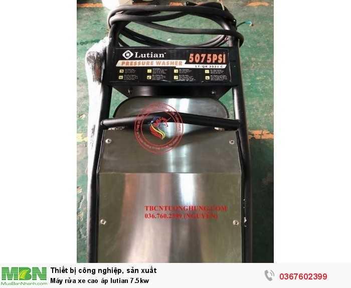 Máy rửa xe cao áp lutian 7.5kw