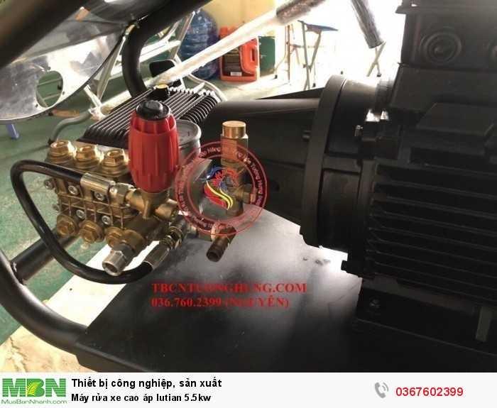 Máy rửa xe cao áp lutian 5.5kw