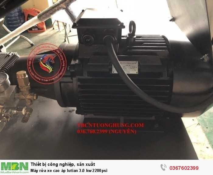 Máy rửa xe cao áp lutian 3.0 kw 2200psi