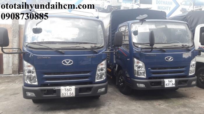Xe tải 3.5 tấn - khuyến mãi 100% thuế trước bạ