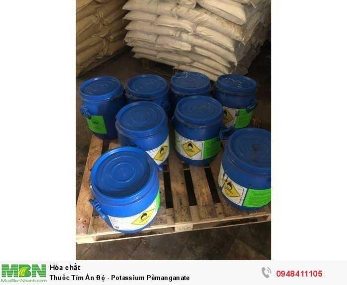 Thuốc Tím Ấn Độ - Potassium Pẻmanganate0