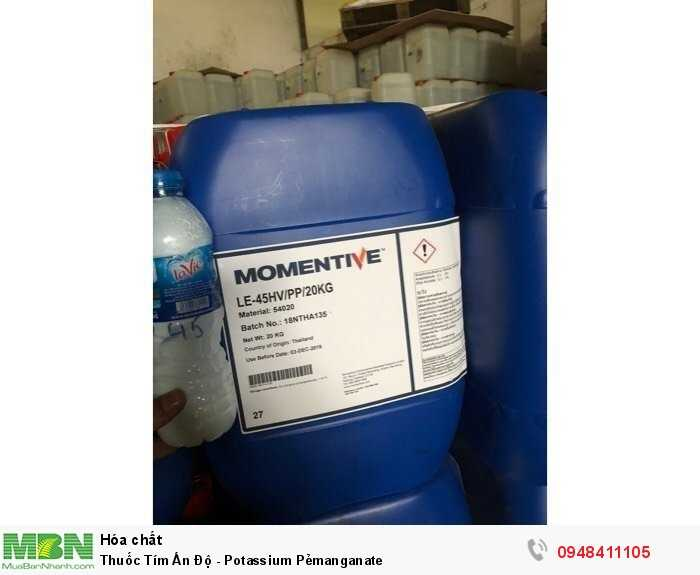 Thuốc Tím Ấn Độ - Potassium Pẻmanganate1