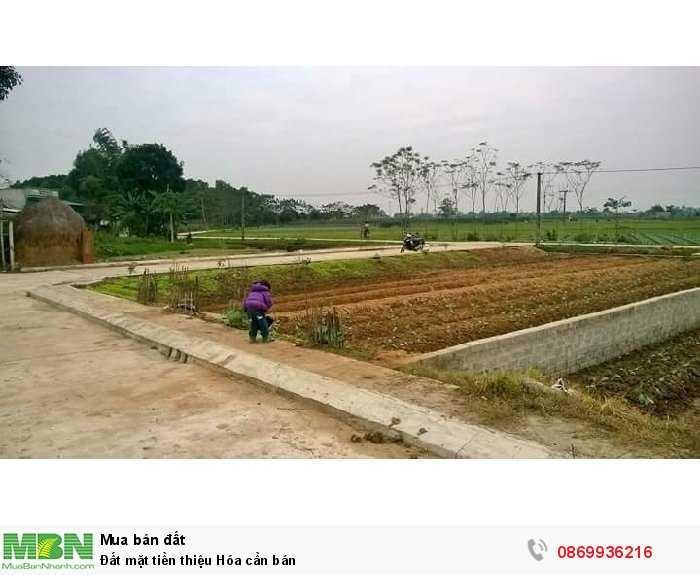 Đất mặt tiền thiệu Hóa cần bán