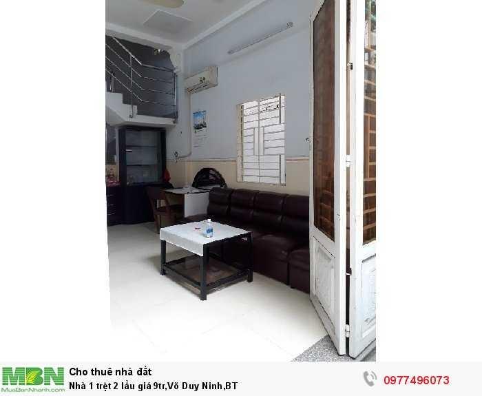 Nhà 1 trệt 2 lầu, Võ Duy Ninh, BT