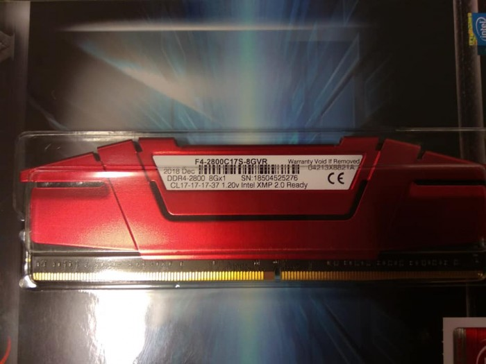 Ram Gskill Ripjaws 8gb/2800 Ddr4 New Fullbox4