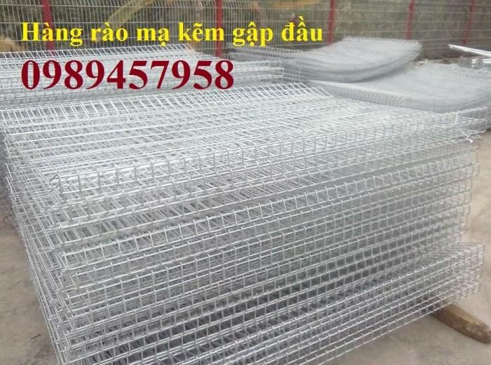 Hàng rào mạ kẽm nhúng nóng phi 5 ô 50x150, 50x200, 50x50 giá tốt4