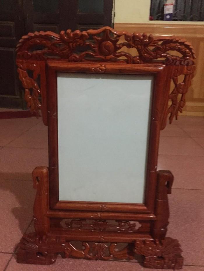 khung ảnh thờ trạm rồng kích thước ảnh thờ: 20 x 30 cm tổng kích thước: cao 49 cm, rộng 33 cm2