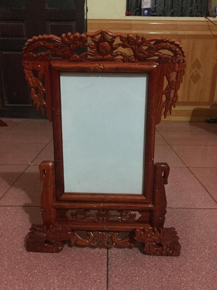 khung ảnh thờ trạm rồng kích thước ảnh thờ: 20 x 30 cm tổng kích thước: cao 49 cm, rộng 33 cm1