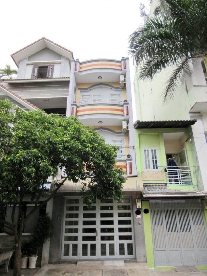 Cho thuê nhà nguyên căn mặt tiền Phan Huy Thực, P. Tân Kiểng Quận 7.