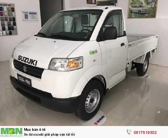 Xe tải Suzuki giải pháp vận tải tốt
