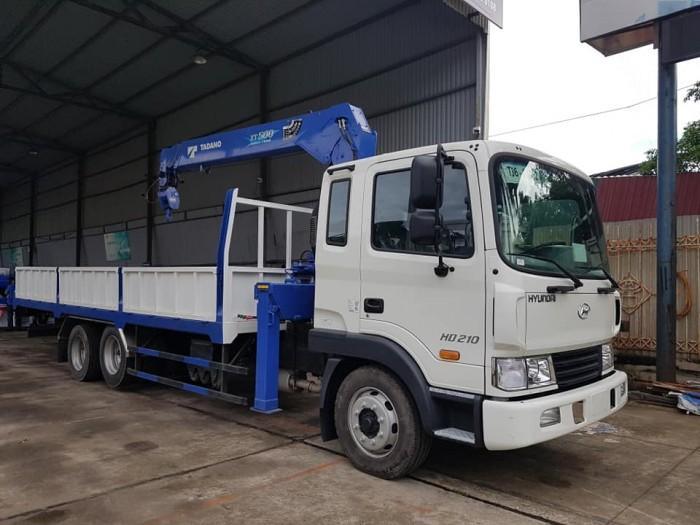 Bán xe HyunDai HD210 gắn Cẩu TADANO 5 tấn