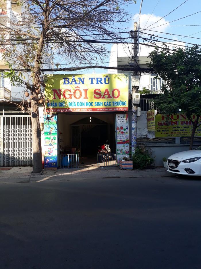 Bán nhà mặt tiền Nguyễn Thị Kiểu, 96m(4x24), 1 lầu, gần trường Lê Văn Thọ