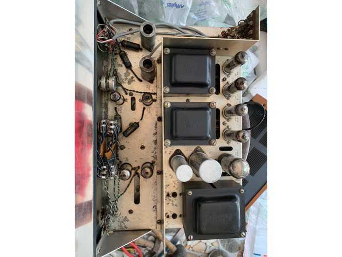 Ampli Đèn Heathkit AA-151 USA4