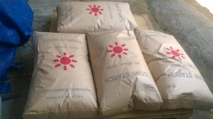 Bột bắp Hàn Quốc - nguyên liệu làm bánh1