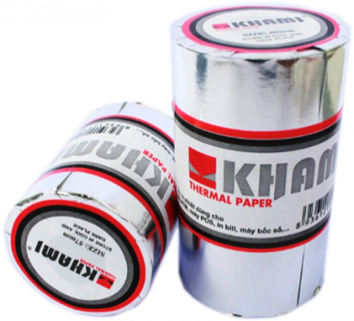 Giấy in nhiệt khami k80 phi45 - giấy sakura k80 phi652