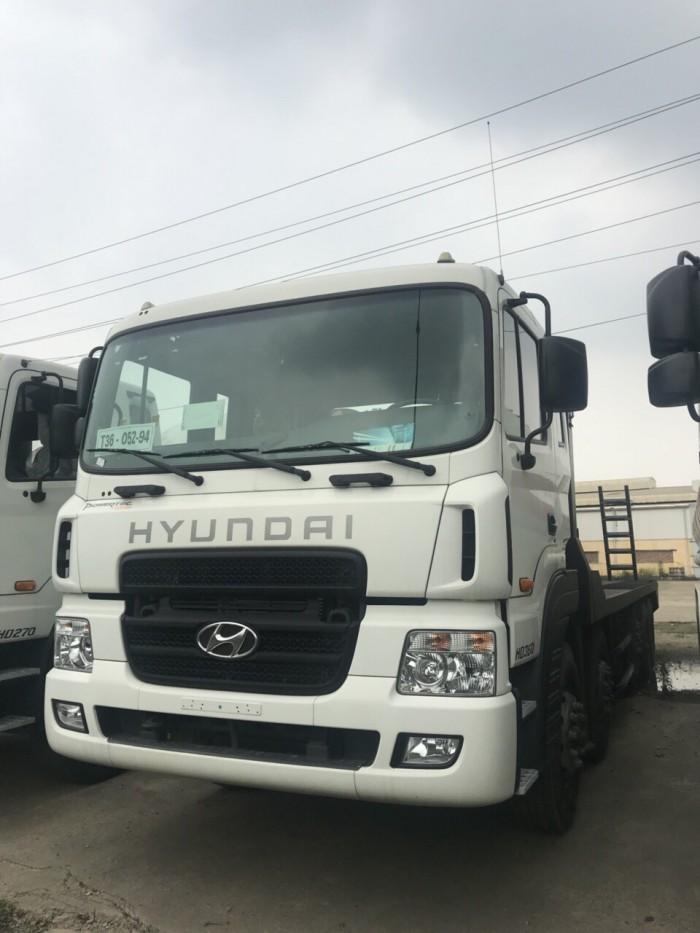 Hyundai 5 chân HD360 ( Máy 380 ) nâng đầu chở máy công trình