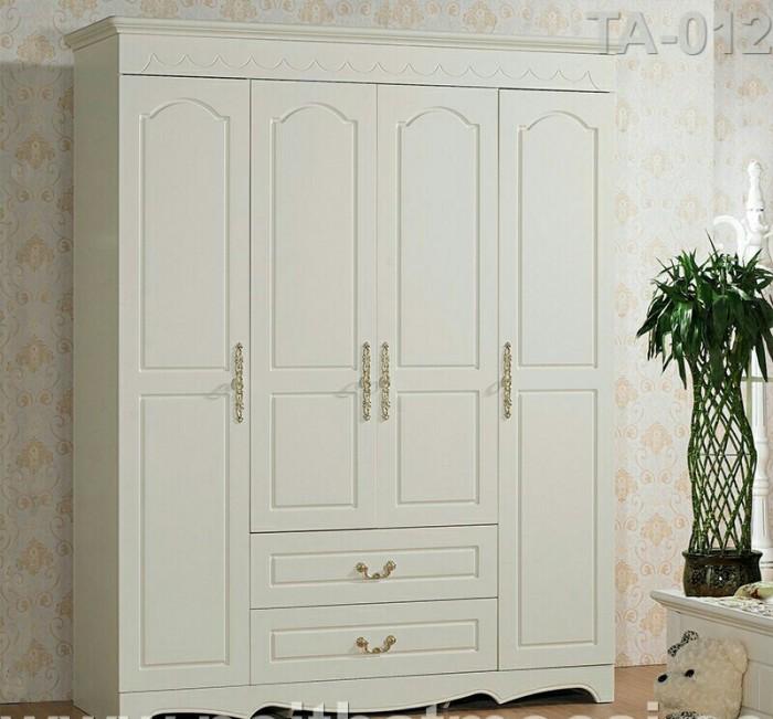 tủ áo tân cổ điển màu trắng giá rẻ Bình Thạnh Bình Tân11