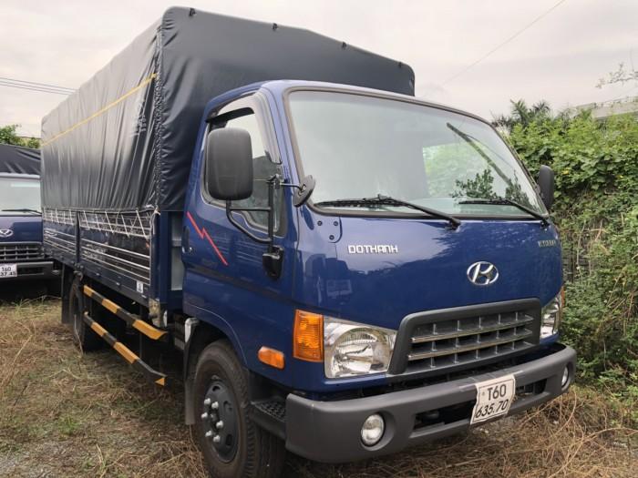 Bán Xe Tải 8 Tấn Hyundai New Mighty 2017 Thùng Mui Bạt