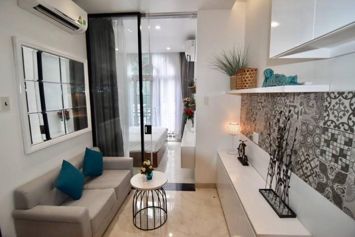 Cần bán gấp căn hộ SamLand Giai Việt Q8, Dt 115m2, 2 phòng ngủ, nhà rộng thoáng mát, view Q1