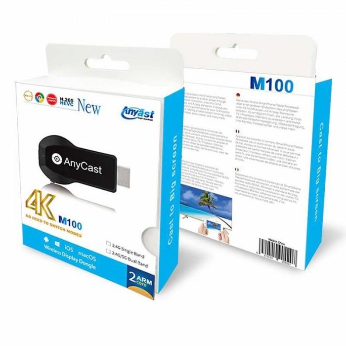 Thiết Bị Truyền Không Dây M100 HDMI M100 WiFi Display Tv Dongle 4K HD Output3