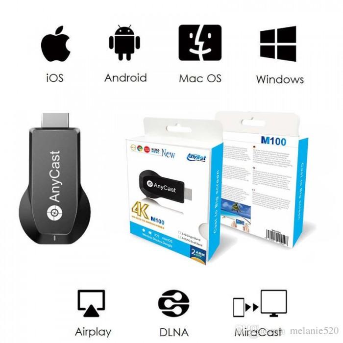 Thiết Bị Truyền Không Dây M100 HDMI M100 WiFi Display Tv Dongle 4K HD Output2