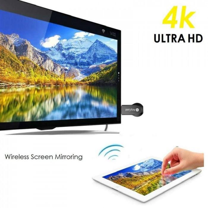 Thiết Bị Truyền Không Dây M100 HDMI M100 WiFi Display Tv Dongle 4K HD Output4