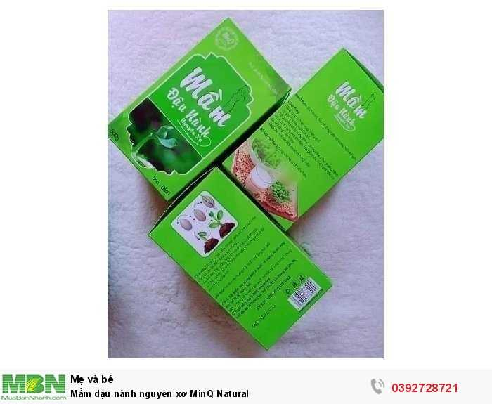 Mầm đậu nành nguyên xơ MinQ Natural0