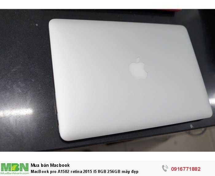 MacBook pro A1502 retina 2015 i5 8GB 256GB máy đẹp0