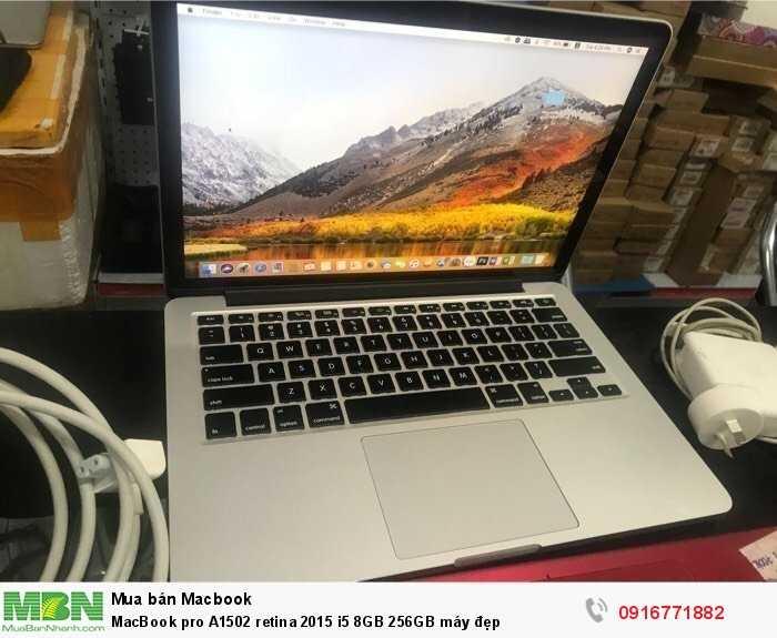MacBook pro A1502 retina 2015 i5 8GB 256GB máy đẹp3