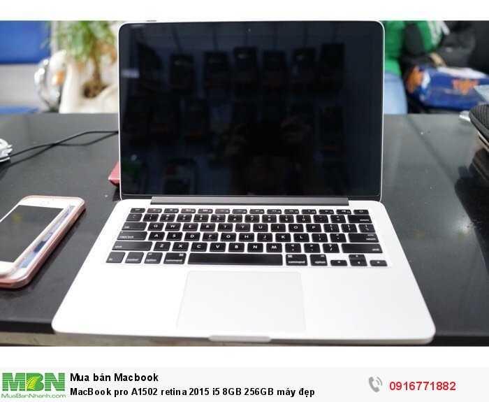 MacBook pro A1502 retina 2015 i5 8GB 256GB máy đẹp4