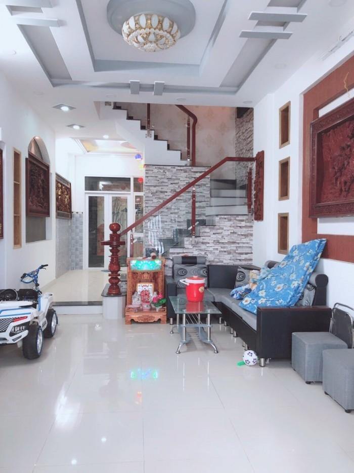 Bán nhà hẻm 67/43 Đào Tông Nguyên, Nhà Bè, DT 4m x 12,5m. 2 lầu 4PM,