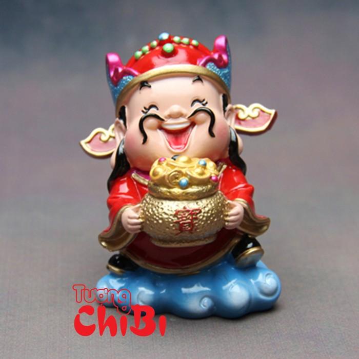 Tượng Chibi Thần Tài 7.5cm12