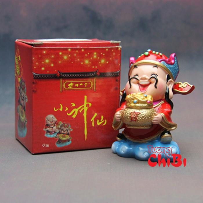 Tượng Chibi Thần Tài 7.5cm10