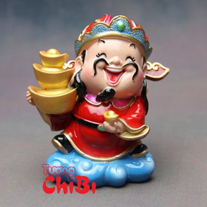 Tượng Chibi Thần Tài 7.5cm7