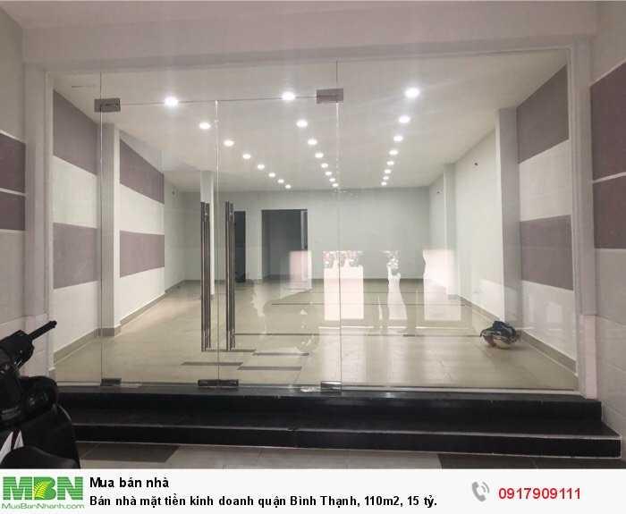 Bán nhà mặt tiền kinh doanh quận Bình Thạnh, 110m2