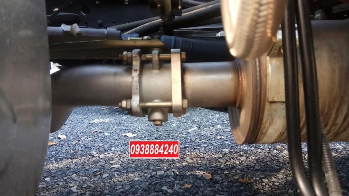 Bán trả góp xe ben Thaco FORLAND FD900 E4 8 tấn thùng 7 khối - Vay 80% Long An Tiền Giang Bến Tre