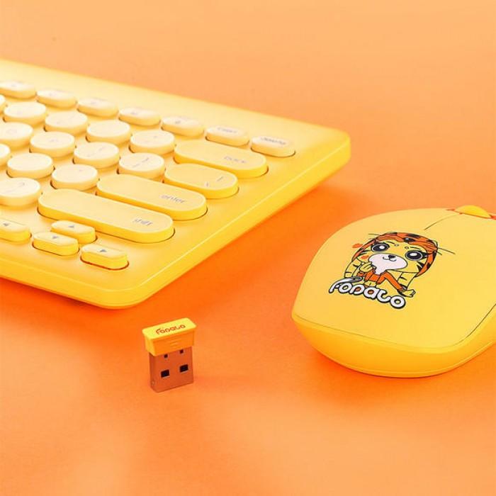 Bộ phím chuột không dây FD LK586 chính hãng3